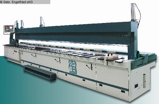 gebrauchte Holzbearbeitungsmaschinen Längskreissäge MABA Swissline-Power 5200 CE