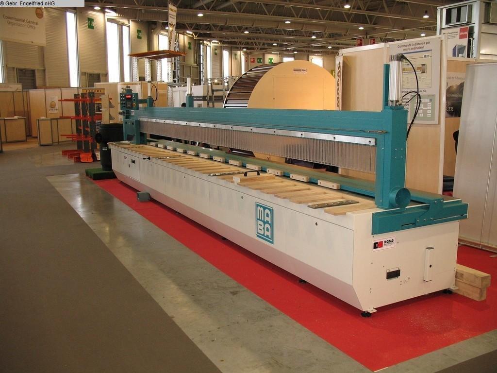 gebrauchte Holzbearbeitungsmaschinen Längsschnittkreissäge MABA Swissline Economic