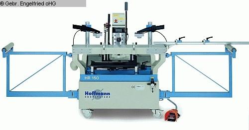 rabljena Proizvodnja prozora: drvo Horizontalni stroj za rezanje utora GOETZINGER SYSTEM HOFFMANN HR 150
