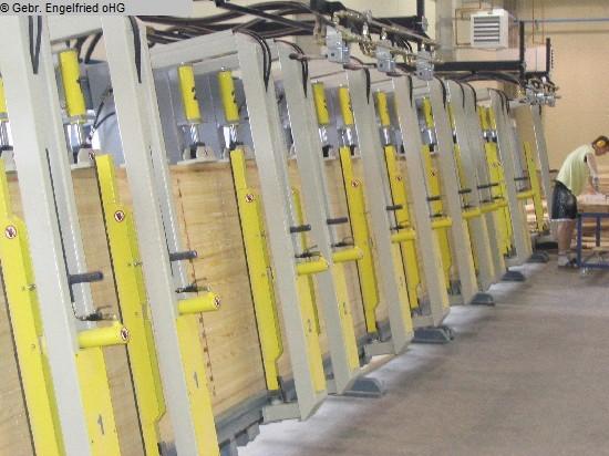 producción de ventanas usada: prensa laminadora de madera TRIMWEX SLV-H-6.0-1.2-120-6V