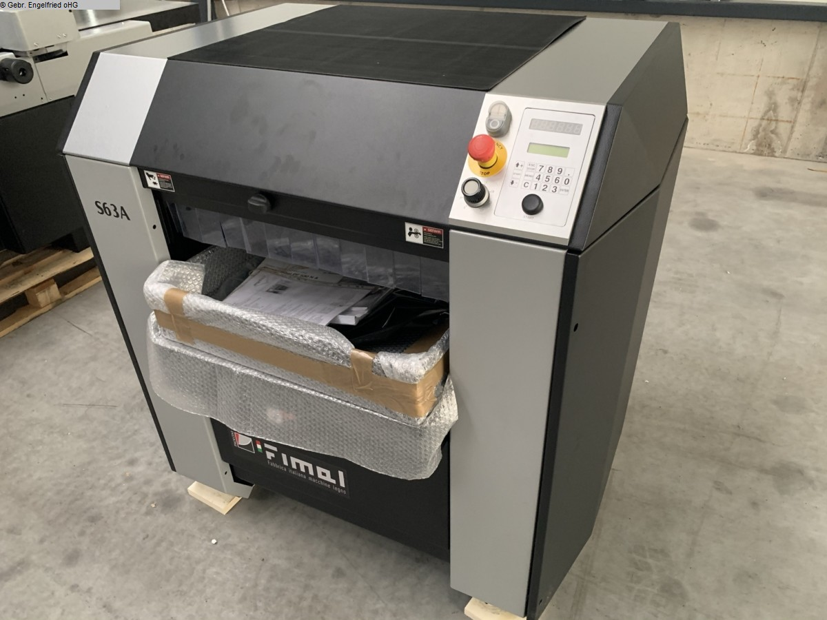 used Machines available immediately Thicknessing machine FIMAL SP 63 A Partnership Edition