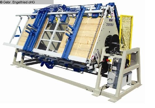 chapas de trabajo usadas, prensas, esparcidores de encolado Prensas de encolado para múltiples plataformas TRIMWEX SLV - HPR3 - 100 mit 3 Etagen