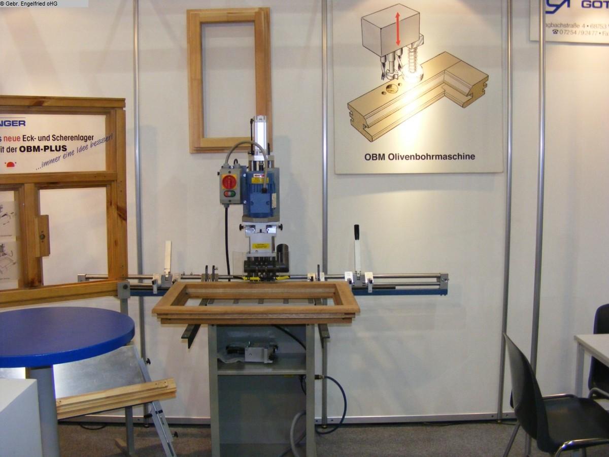 gebrauchte Fensterfertigung: Holz Ecklager- und Olivenbohrmaschine GÖTZINGER OBM Plus