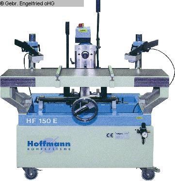 gebrauchte Fensterfertigung: Holz Rahmen- und Langlochbohrmaschine GOETZINGER SYSTEM HOFFMANN HF 150 E