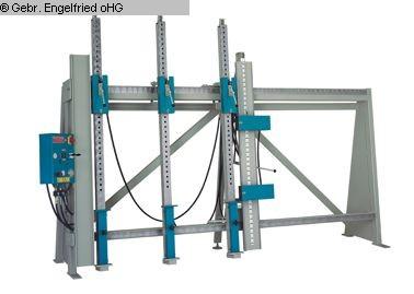 gebrauchte Fensterfertigung: Holz Rahmenpresse S&S RP 2000
