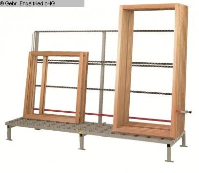 production de fenêtres occasion: convoyeur à rouleaux en bois RUCHSER RU-RD20