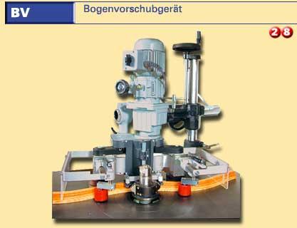gebrauchte Fensterfertigung: Holz Rundbogenfräsgeräte STEGHERR BV