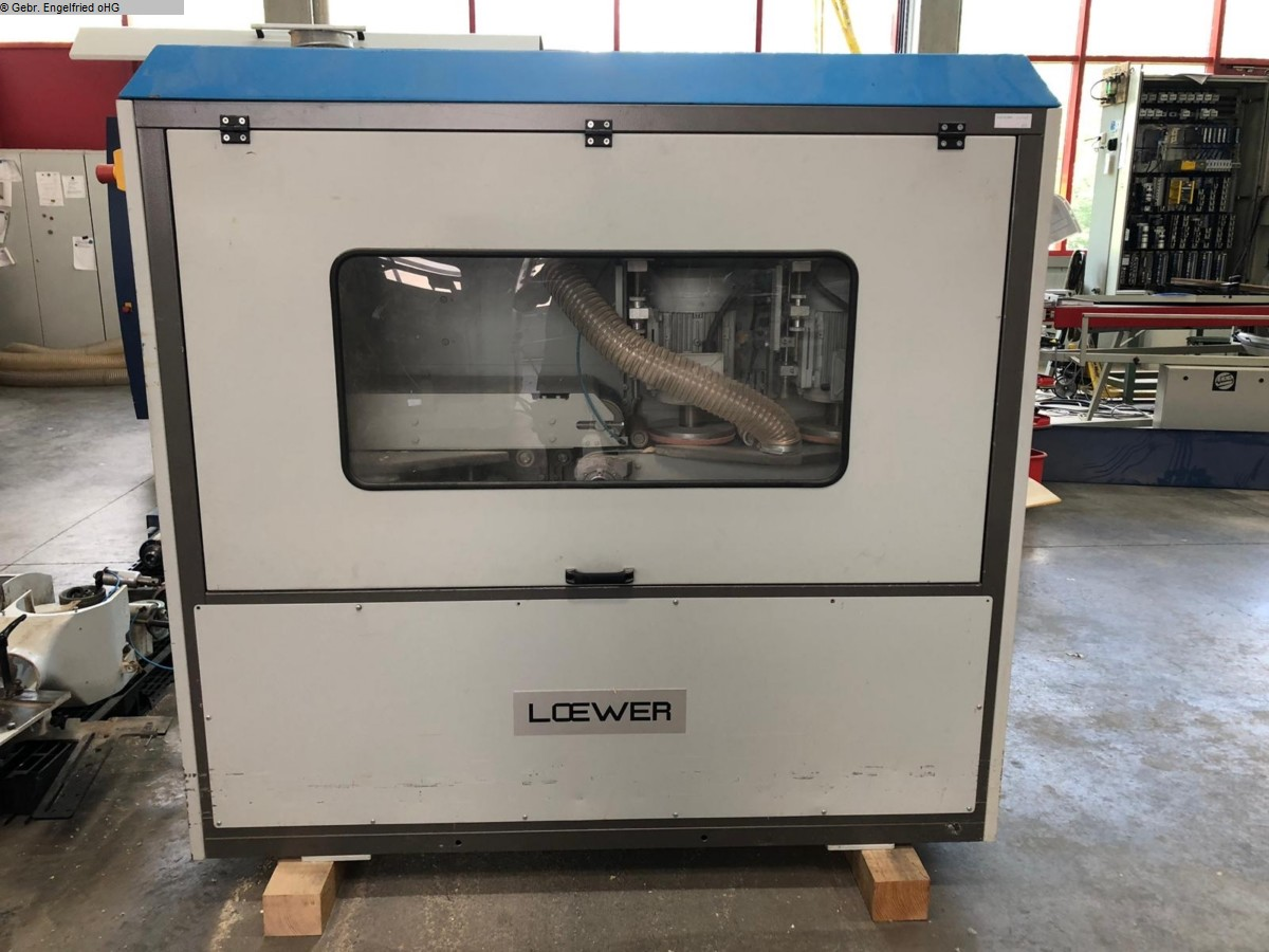 used Window production: wood Sanding machine LÖWER Crossmaster DD x 2-200