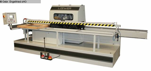 used Window production: wood Sanding machine LÖWER FA 6 D Finishautomat