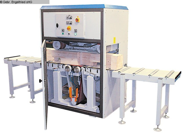gebrauchte Schleifen, Bürsten, Polieren, Strukturieren Band- und Profilschleifmaschine LÖWER Holzbauschleifmaschine HBS 400