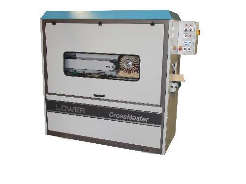 gebrauchte Fensterfertigung: Holz Schleifmaschine LÖWER LZ DBx2-200 Crossmaster