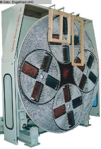 gebrauchte Fensterfertigung: Holz Schleifmaschine QUICKWOOD ROV 2600