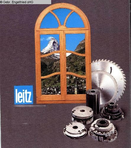used Window production: wood Tool for window production LEITZ Hobelkoepfe+Leistentrennung