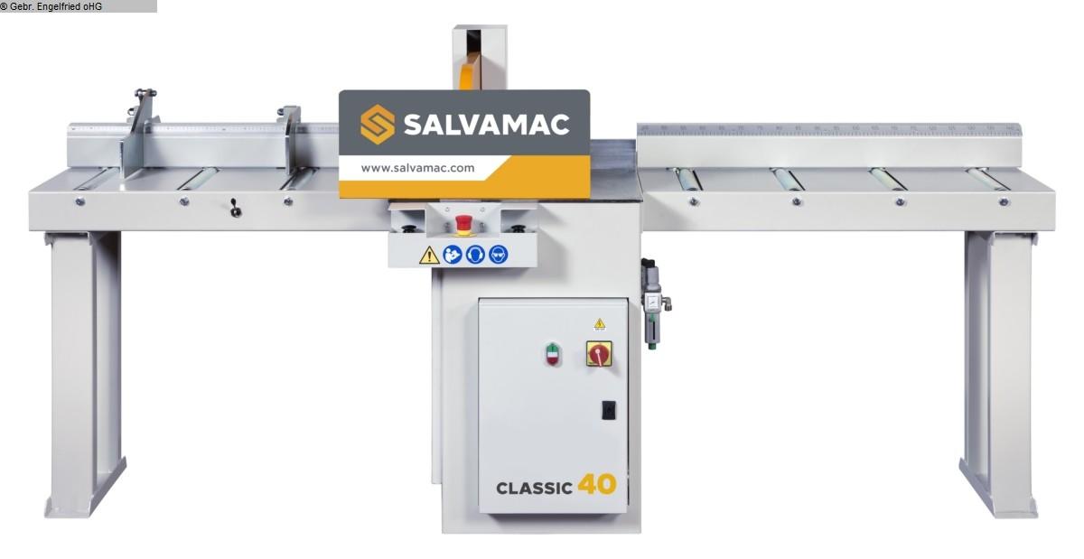 gebrauchte Fensterfertigung: Holz Untertischkappsäge SALVAMAC Classic 40