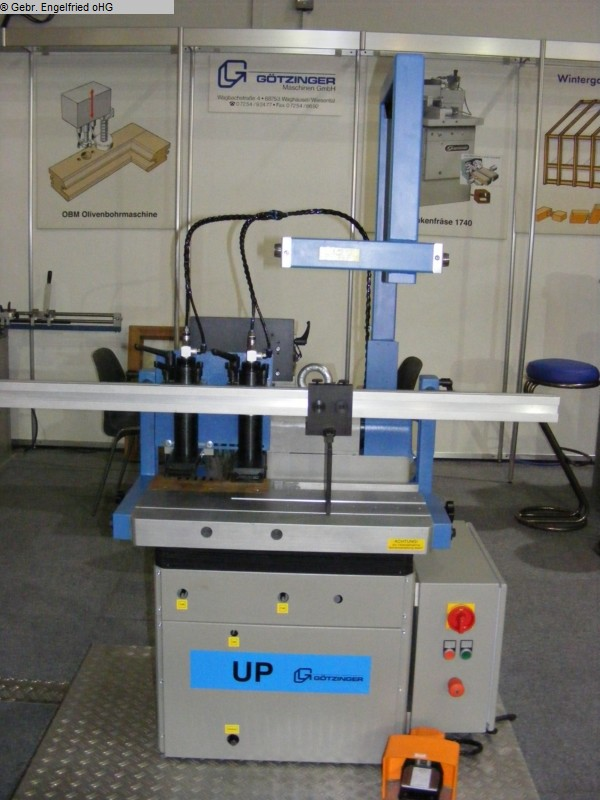 used Wood Milling Machine GÖTZINGER UP 1730 Universalprofilierer