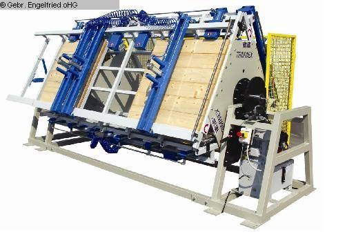 gebrauchte Furnieren, Pressen, Leimen, Kleben Verleimstern TRIMWEX SLV - HPR3 - 100 mit 3 Etagen