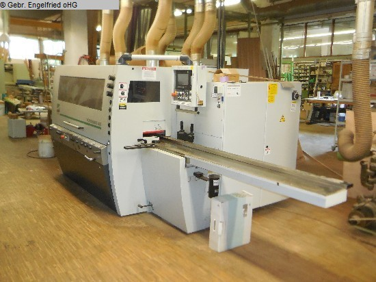 used Window production: wood 4 side moulder WEINIG Powermat 400 CNC Fenster