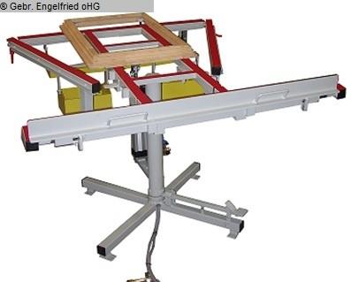 Producción de ventanas: mesa de ensamblaje de madera RUCHSER RU-4
