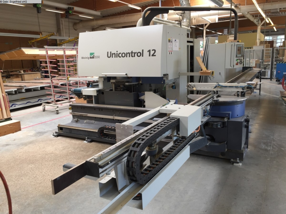 used Window production: wood Window production centre WEINIG Unicontrol 12 CNC - Video -