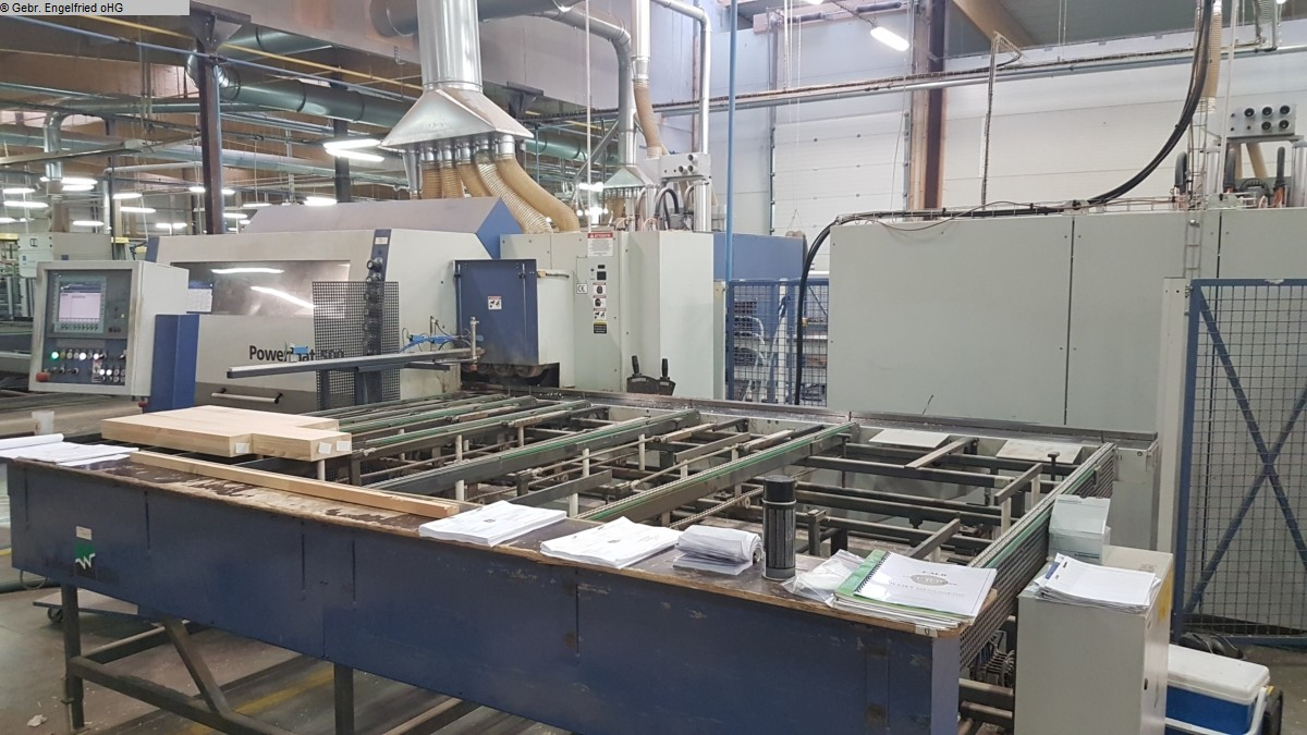 used Window production: wood Window production centre WEINIG UC-Matic CNC