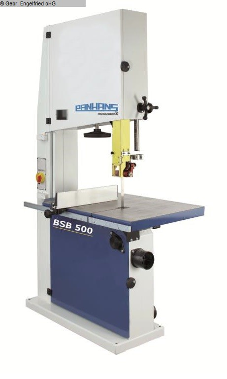 used Woodworking Band saw PANHANS BSB 500