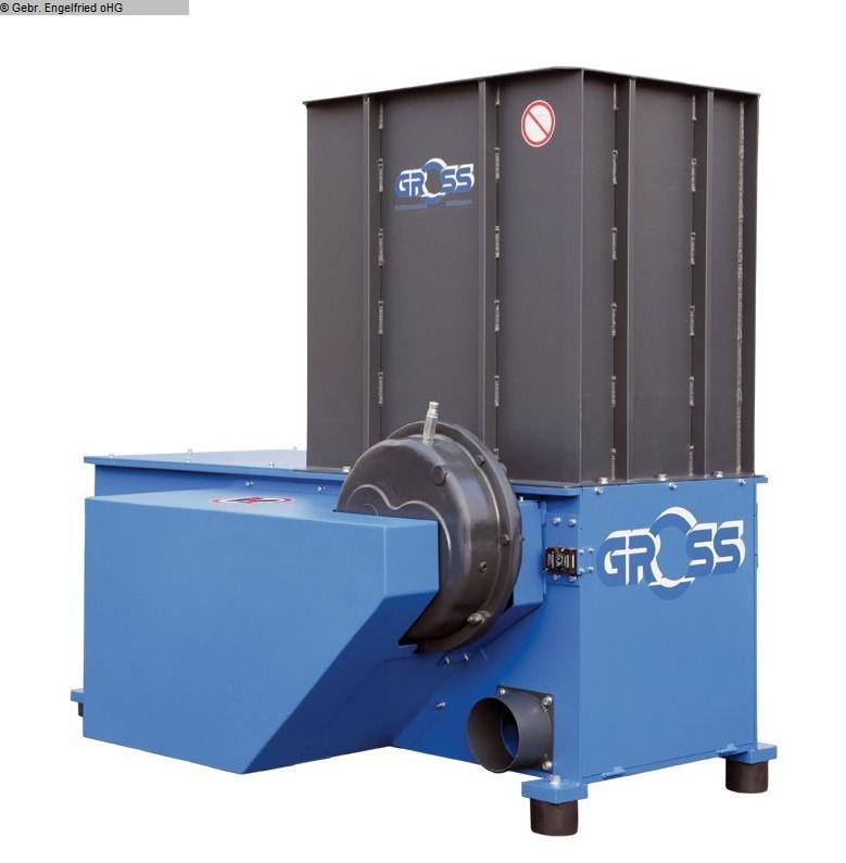 gebrauchte Entsorgung, Lufttechnik, Absaugen, Zerkleinern, Brikettieren Zerspanen GROSS GAZ 62 / 18,5 kW
