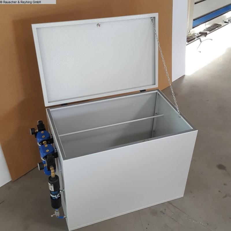 gebrauchte Maschine Kantenanleimmaschine R+R Trockenbox PUR