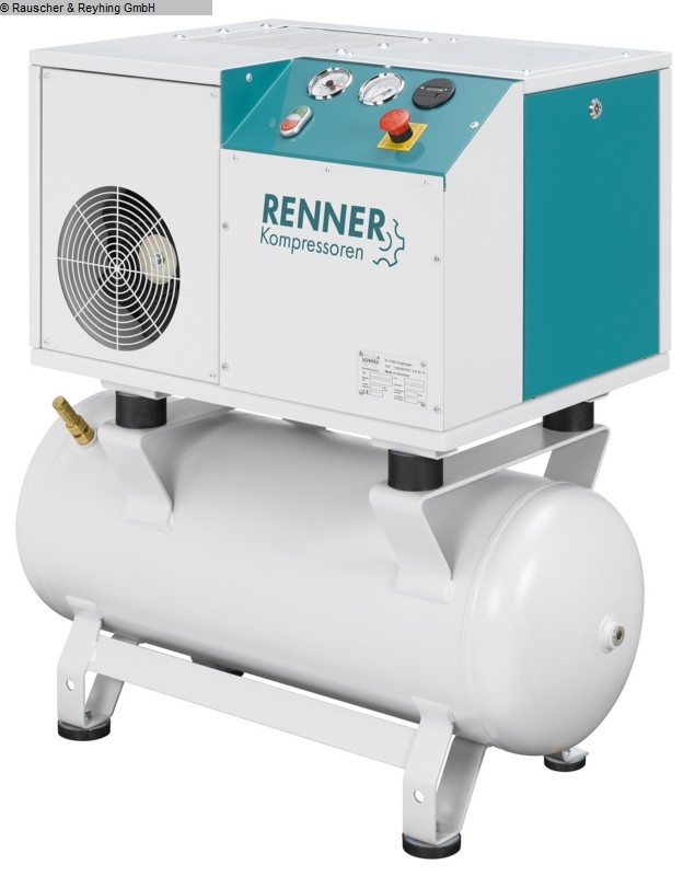 used Compressors Compressor and compressed air treatment RENNER RSD-B 5,5