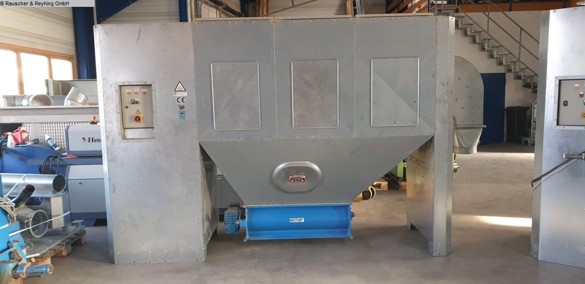 used Chip and dust extracting systems Deduster NESTRO NE250 Zellenradschleuse