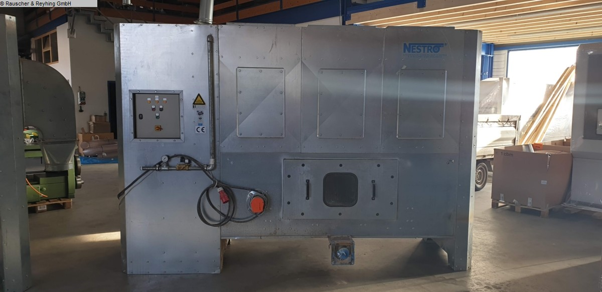 used Chip and dust extracting systems Deduster NESTRO NE250 Brikettierpresse