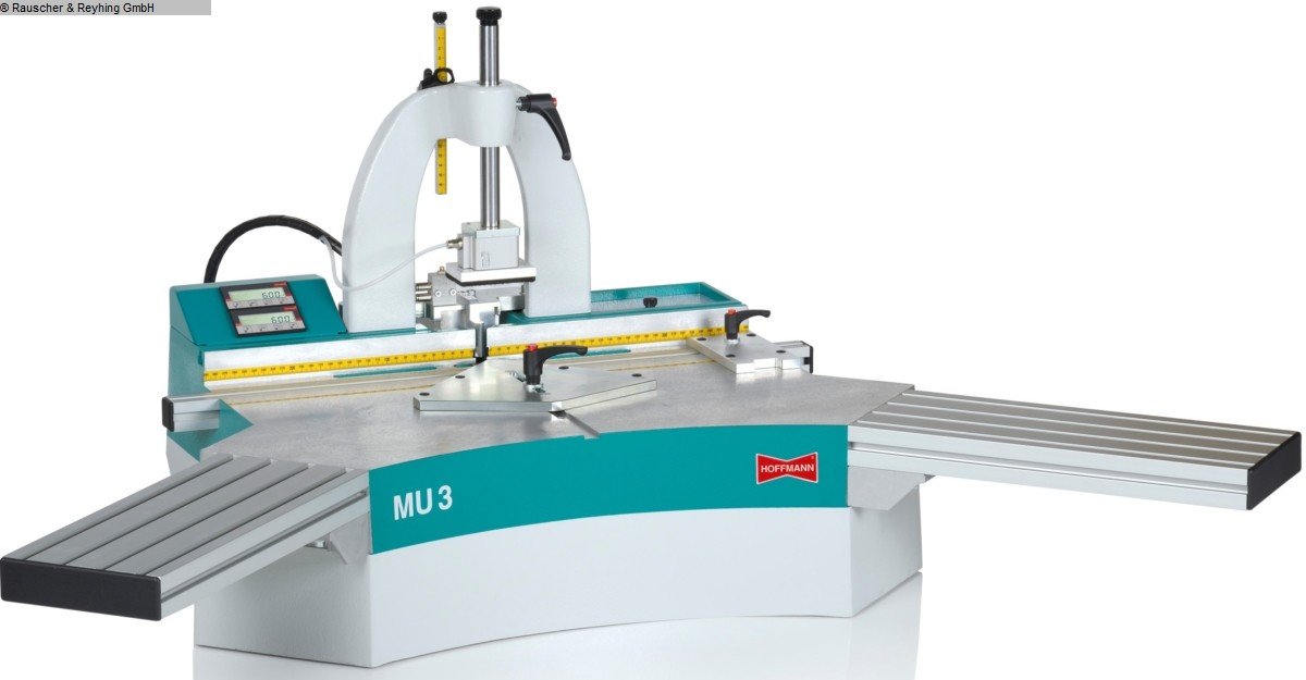 used Milling and tenonning Wood Milling Machine HOFFMANN MU 3-PD (AB KW31)
