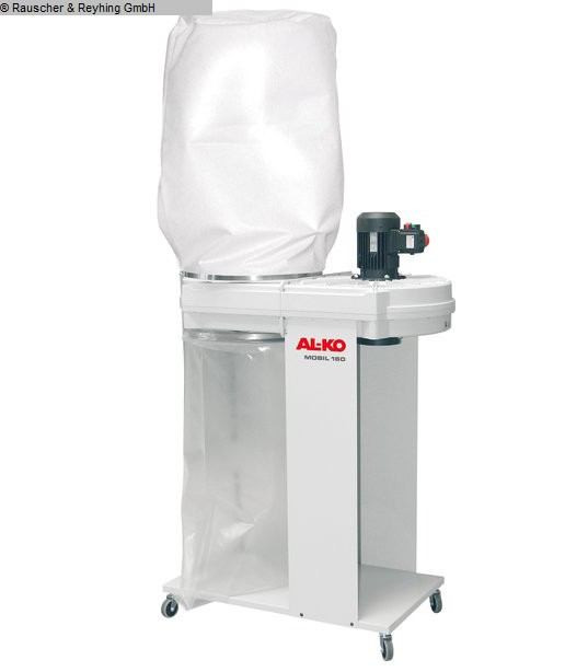 used Chip and dust extracting systems Suction device AL-KO Mobil 160 / 19512950