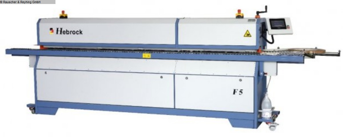 used Edge banding machine HEBROCK F5