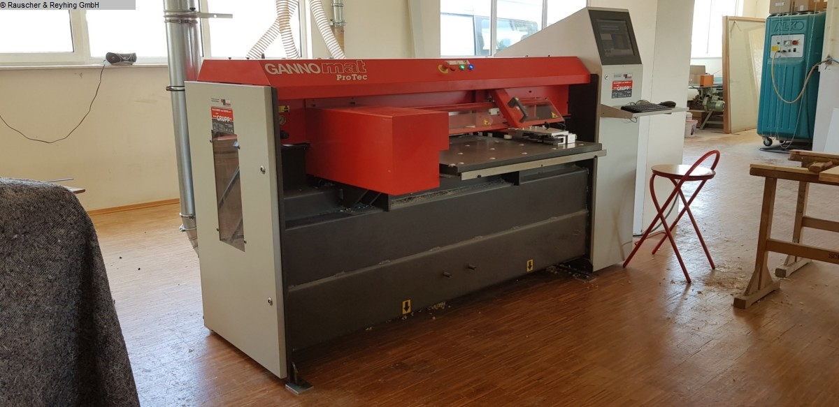 used CNC-processing GANNER Protec