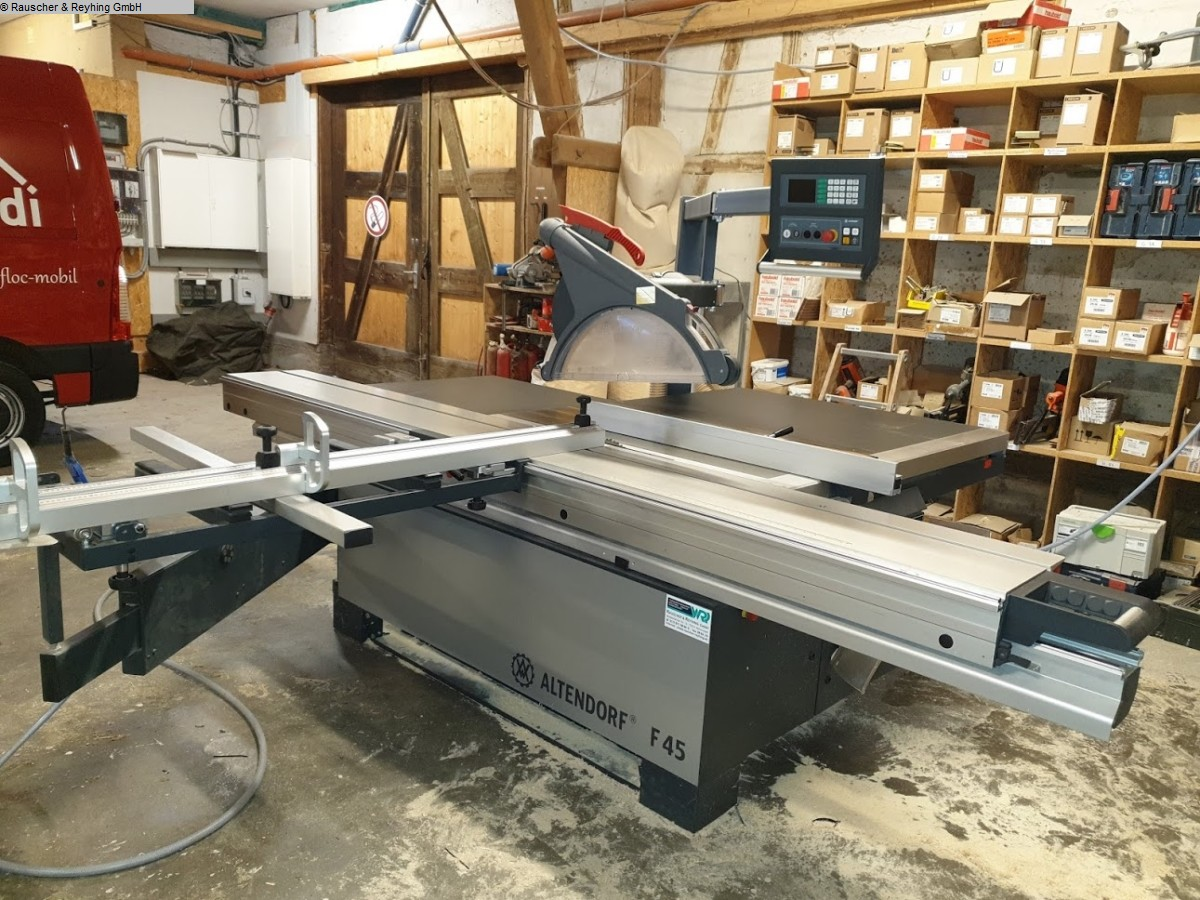 used  Panel sizing circular saws ALTENDORF F 45 ProDrive