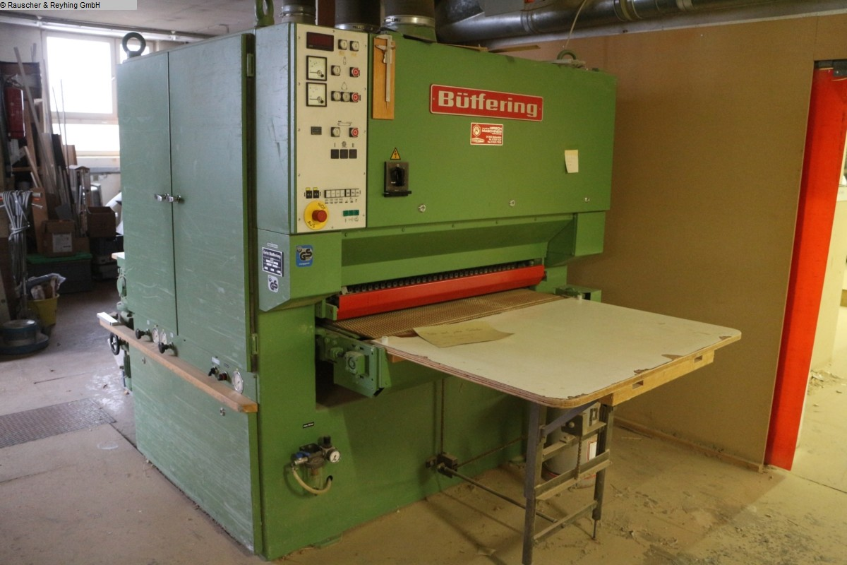 used  Wide belt sander BUETFERING AWS 2 KE
