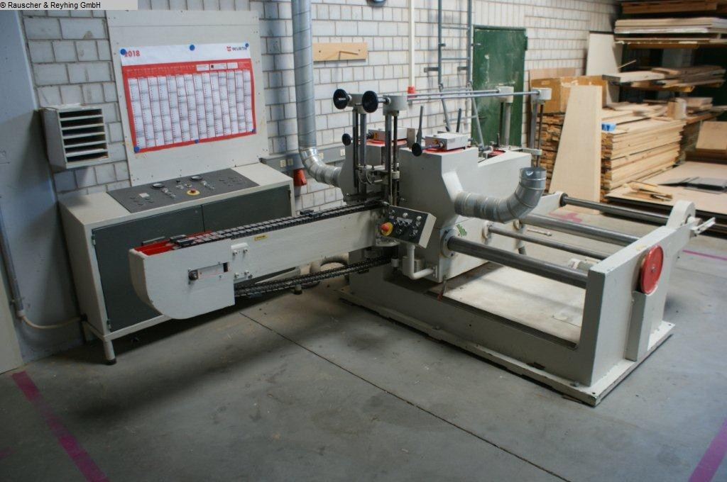 used Profile sanding machine Gruetzmacher S21