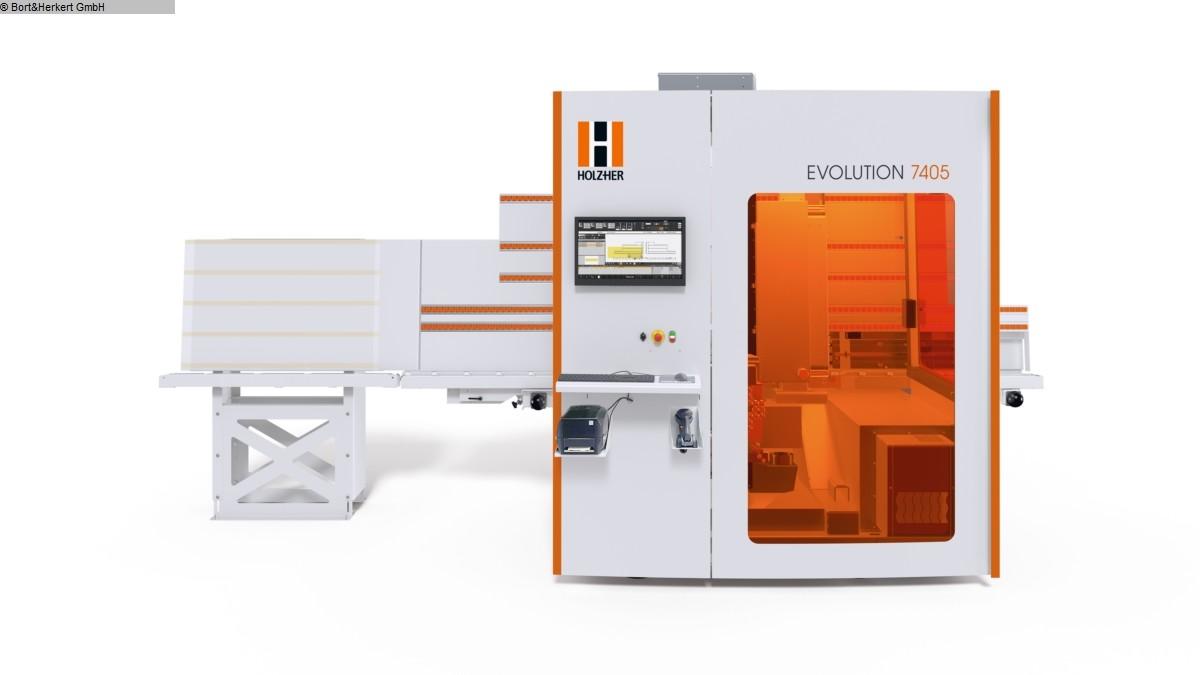 gebrauchte  CNC-Bearbeitungszentrum HOLZHER EVOLUTION 7405 Connect