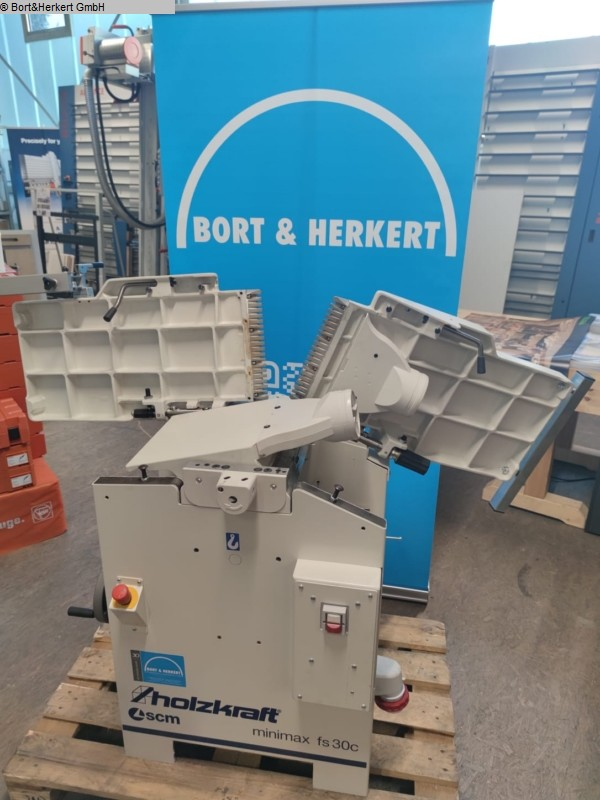 used  Combined planing-thicknessing machine HOLZKRAFT minimax fs 30c TERSA