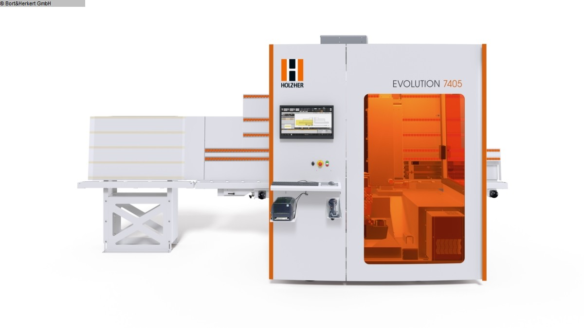 used  cnc-processing center HOLZHER EVOLUTION 7405 Connect