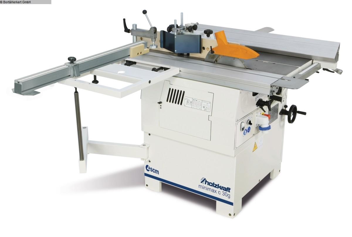 used  multiple combined machines HOLZKRAFT minimax C 26g TERSA