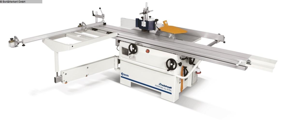 used  multiple combined machines HOLZKRAFT minimax cu 410c F26 N TERSA