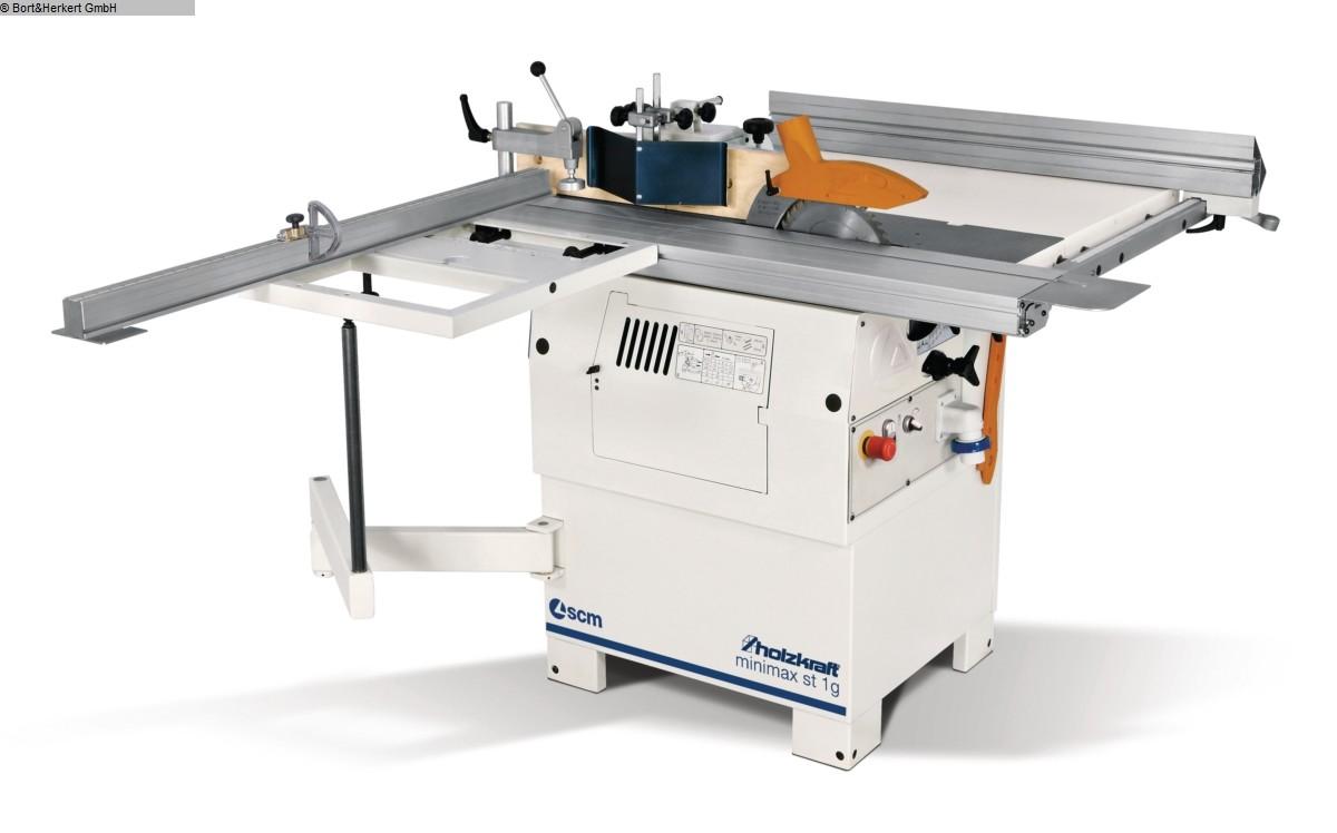 used  multiple combined machines HOLZKRAFT minimax st 1g