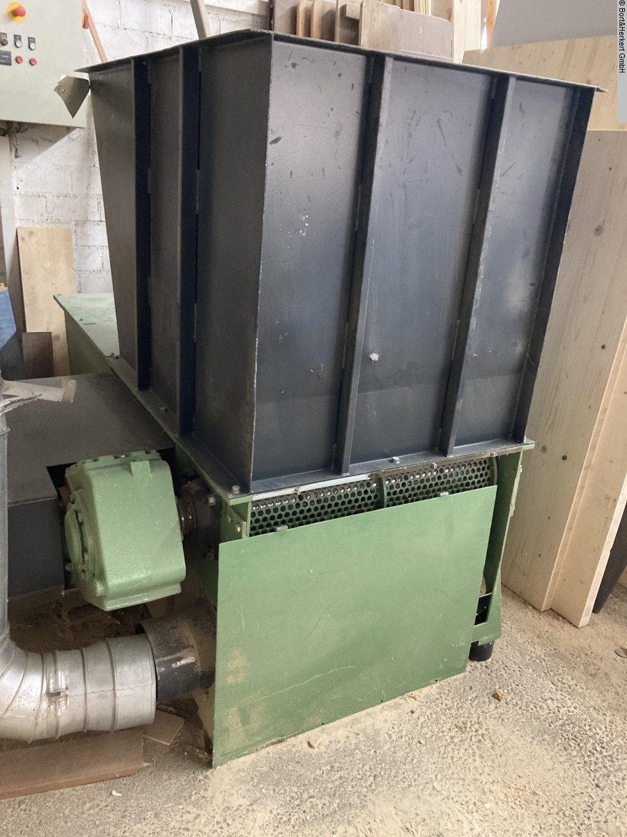 used Chip and dust extracting systems Hogger GROSS GAZ 82