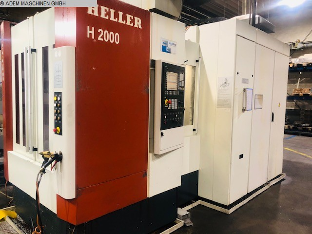 gebrauchte  Bearbeitungszentrum - Horizontal HELLER H 2000
