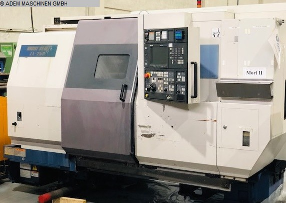 used  CNC Lathe - Inclined Bed Type MORI SEIKI ZL 250