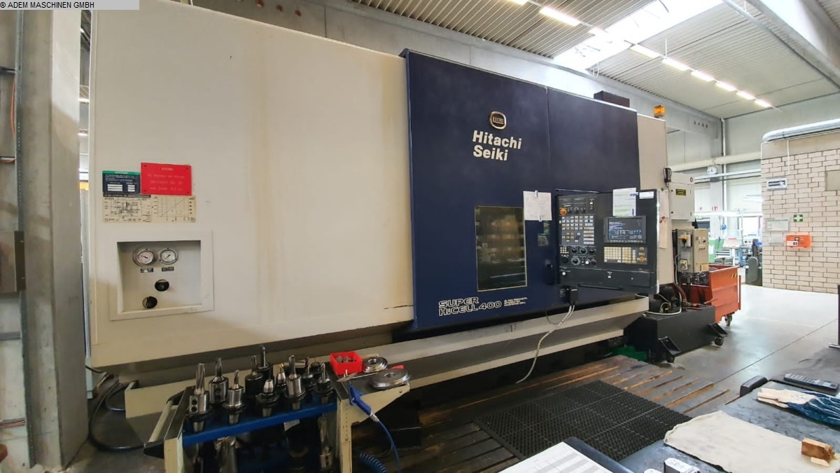 used  CNC Turning- and Milling Center HITACHI SEIKI SUPER HiCELL 400 / CH400