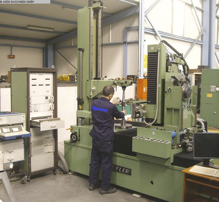 used  Gear Testing Machine HÖFLER H1301/1400