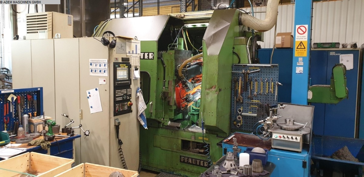 used Gear cutting machines Gear Hobbing Machine - Vertical PFAUTER PA 320 CNC