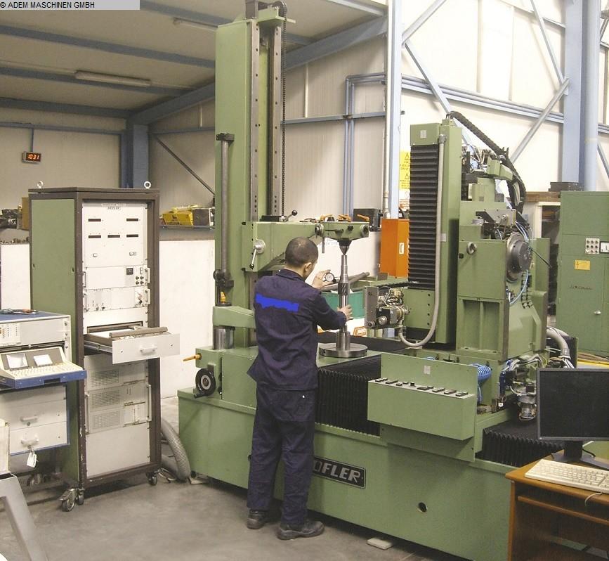 Rabljeni strojevi za rezanje zupčanika Stroj za ispitivanje zupčanika HÖFLER H1301 / 1400